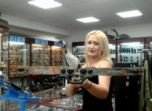 Юдина Марина участница «Мисс Камышин -2017» и «Манекен челлендж» в магазине «Ягуар»