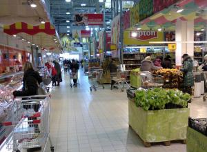 Камышане отстают от среднестатистического россиянина в тратах за одно посещение магазина