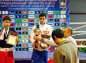 Камышинский спортсмен стал победителем XX традиционного межрегионального турнира по боксу