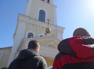 Воспитанники Камышинской колонии побывали на пасхальном богослужении в Никольском кафедральном соборе
