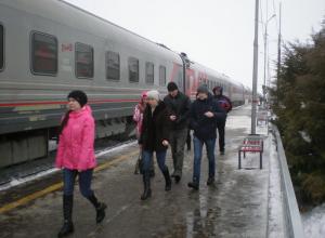 Камышане сочли высокой плату за посещение выставочных вагонов РДЖ