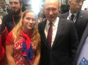 «Папарацци» поймали известную волжанку с Путиным, - «Блокнот Волжского»