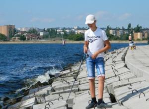 Никульников Алексей – самый юный рыболов в Камышине