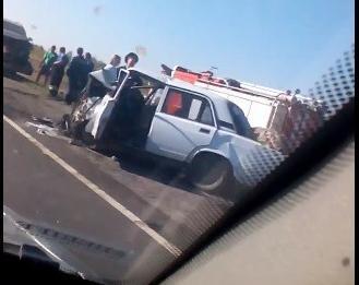 На трассе Волгоград - Москва вновь произошло кошмарное лобовое столкновение с тремя смертями