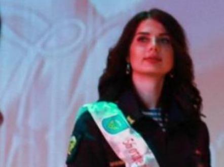 Гвардии капитан Ольга Иванова из 56-й ОДШБР вернулась в Камышин с конкурса «Краса ВДВ-2019» с титулом «Мисс очарование»