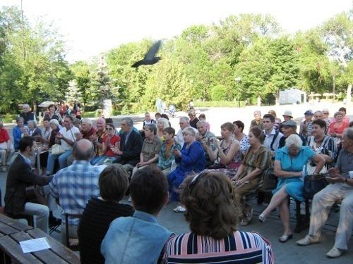 Поклонники поэзии Пушкина сегодня, 6 июня, соберутся в городском парке Камышина