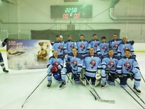 Любительская хоккейная команда ветеранов из Камышина  «утерла нос» Европе!