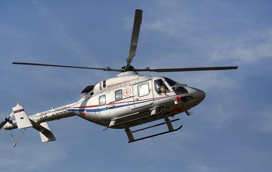 Вертолет доставил в клинику Волгограда малыша, обварившегося кипятком