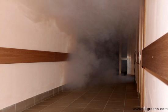 Дым в коридоре камышинской школы родил слухи о выпрыгивании детей в окна