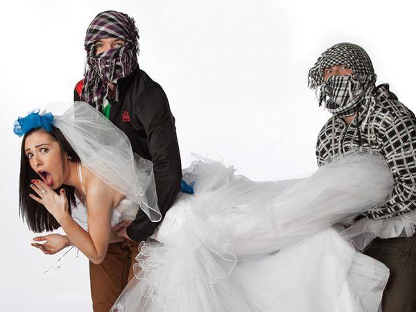 Жених похитил невесту, которая очень хотела, чтобы ее украли