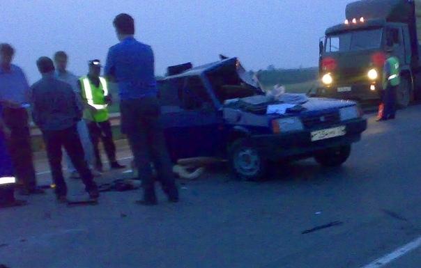 На трассе Камышин - Волгоград произошла смертельная авария