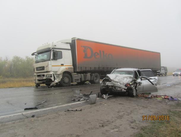 ВВолгоградской области засутки вавариях на трассах погибли 3 человека