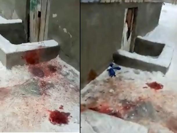 Покупатель расплатился в магазине купюрой с каплями крови только что убитого им человека