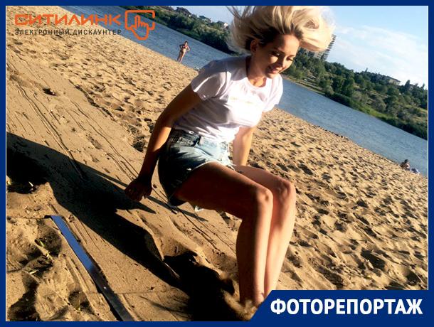 Спортивный этап конкурса «Мисс Блокнот Камышин» оттенил стройную фигурку Елизаветы Стебловской