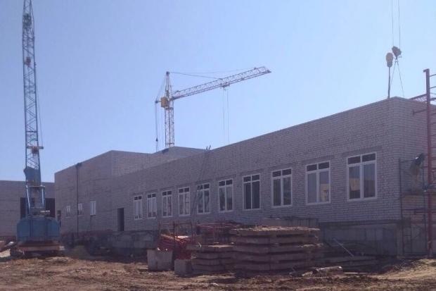 Нулевой и первый этажи отстроены в новой школе в седьмом микрорайоне Камышина