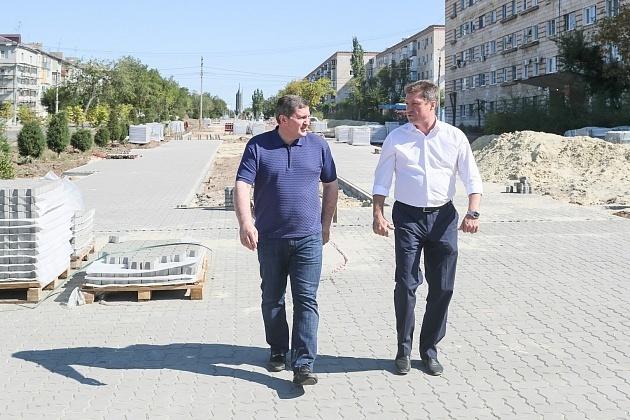 Андрей Бочаров наносит визиты в Камышин один за другим, не стал исключением и день выборов