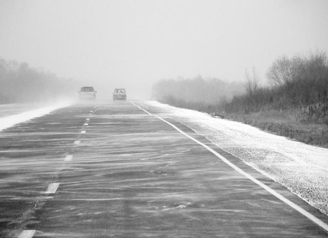 ВВолгоградской области натрассах предполагается сильная метель