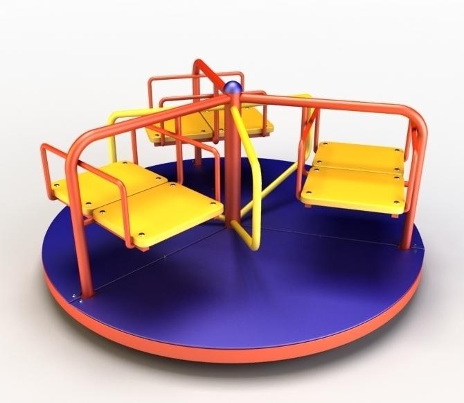 Карусели на детских площадках Камышина «заморожены» до весны