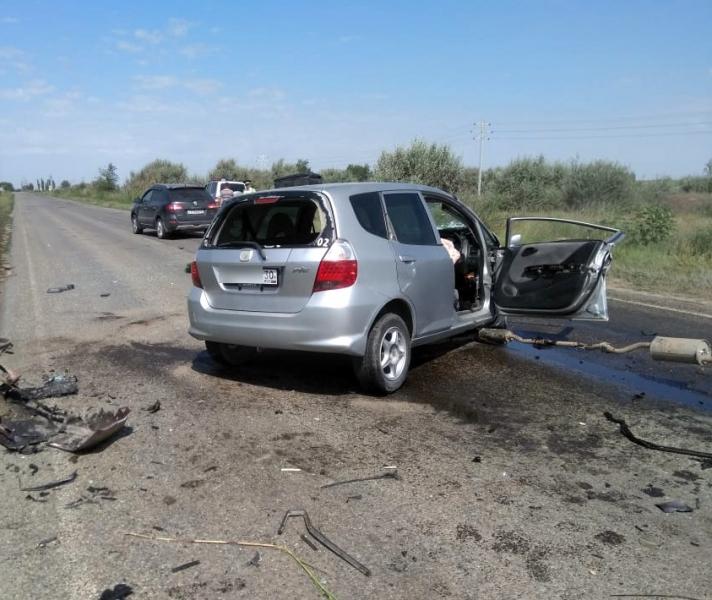 Появилось видео страшной аварии, в которой погибла семья с двумя маленькими детьми из Волгоградской области, - «Блокнот Волгограда»