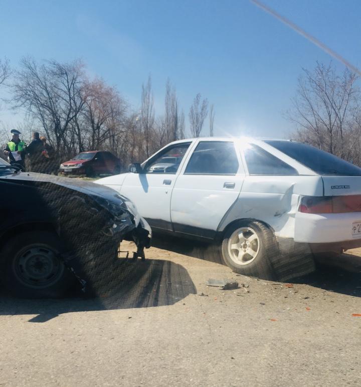 В Камышине произошла авария в районе поселка «Мичуринский»