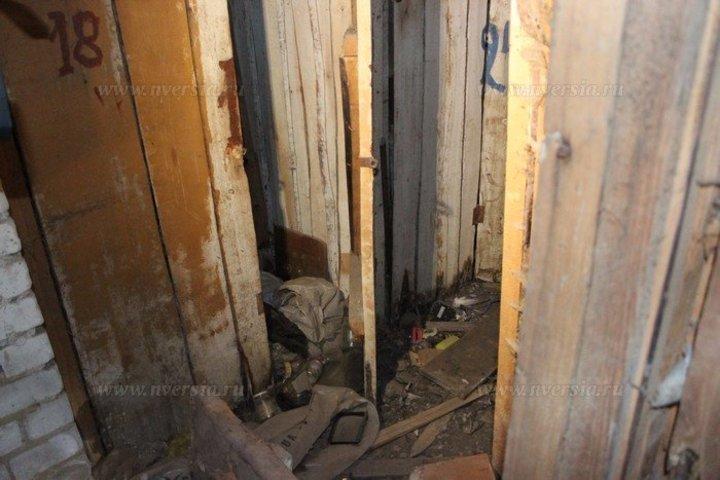 В Камышине на улице Ленина в подсобке дворников обнаружен труп