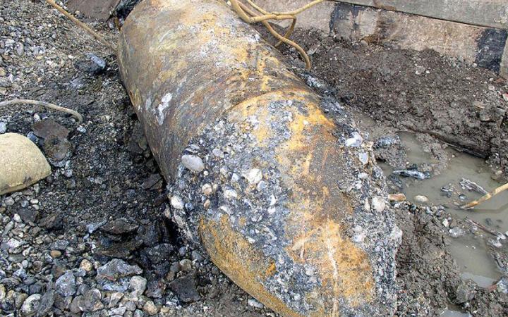 ВВорошиловском районе Волгограда обнаружили бомбу