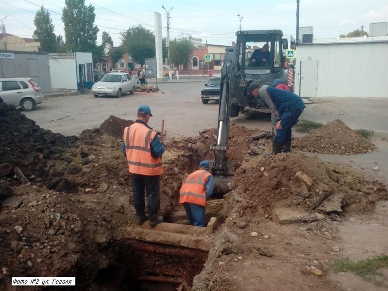 Водоканал Камышина продолжает работы по замене изношенных сетей