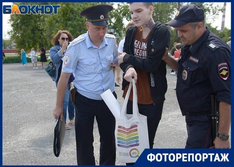 Митингующих геев задержали за пропаганду рядом с детьми, - «Блокнот Волгограда»