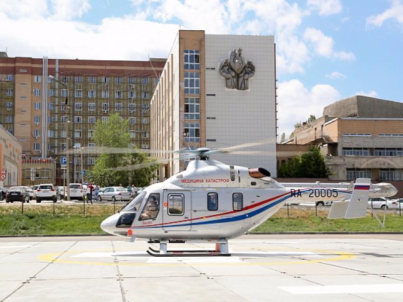 ВВолгоградской области вертолет санавиации перевез сотню тяжелых пациентов