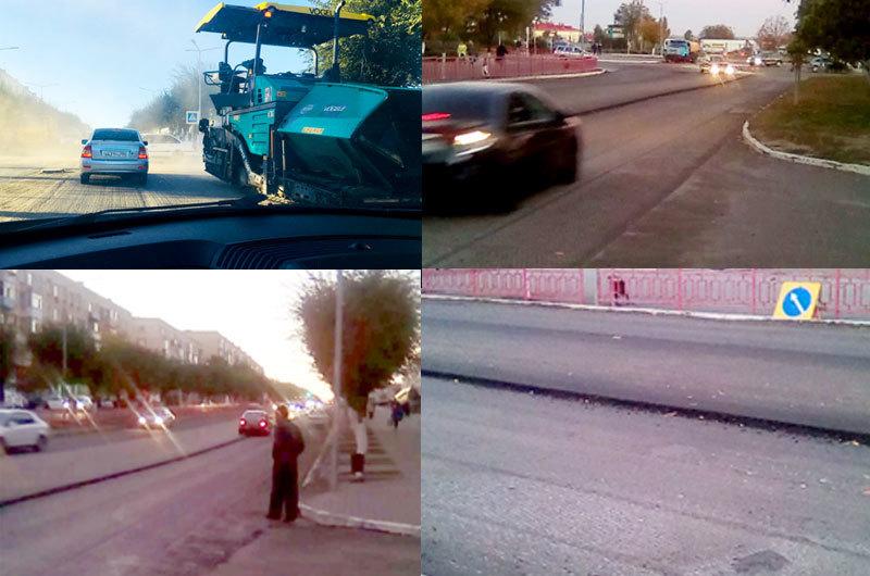 Дорожники активно продолжают ремонт улице Ленина в Камышине