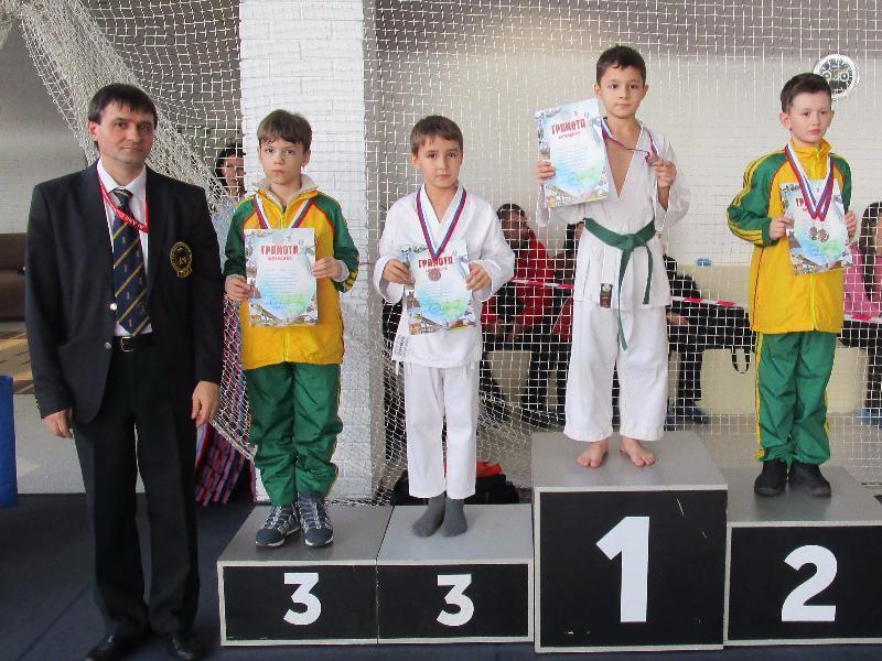 Первенство Волгоградской области по каратэ WKF. Камышин в лидерах