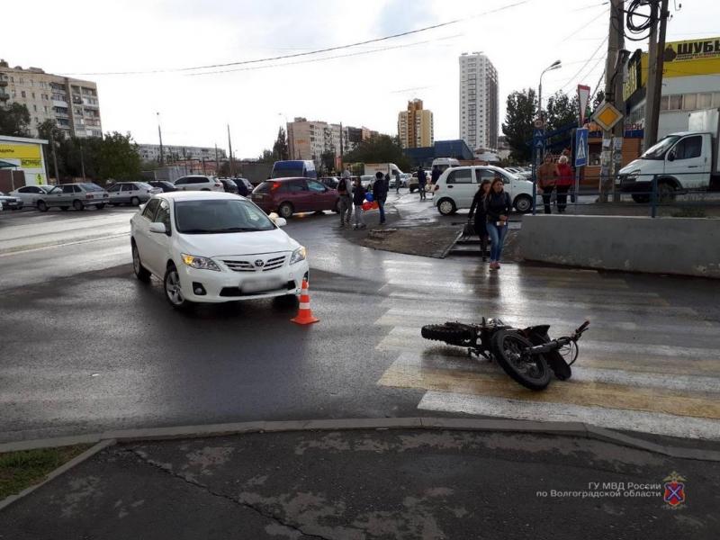 Аналитики определили рейтинг причин автомобильных катастроф в Волгоградской области