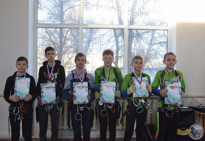 Спортсмены Камышина завоевали призовые места в Кубке Волгоградской области по спортивному туризму