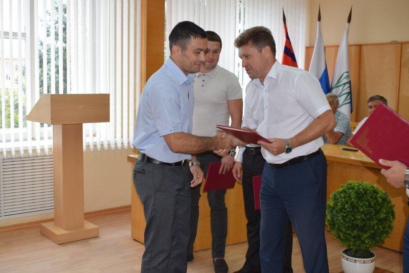 В администрации Камышина чествовали лучших спортсменов, тренеров и ветеранов спорта