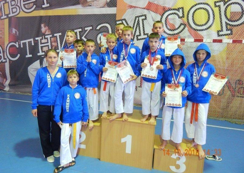 Камышинские каратисты приняли участие в соревнованиях по всестилевому карате
