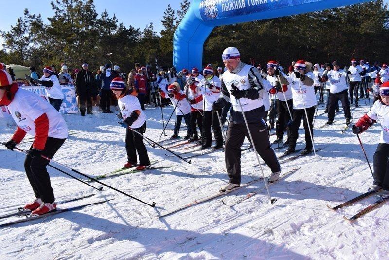 В Камышине стали известны лидеры «Лыжни России»