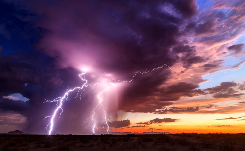На аномальный Склон бешеных молний в Жирновском районе Волгоградской области  туры уходят по 10 тысяч рублей