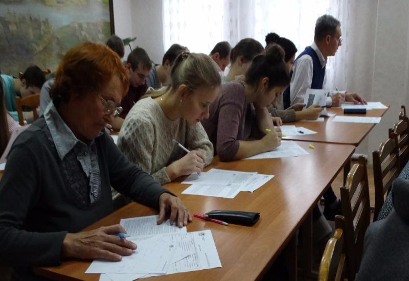 40 человек в Камышине написали «Географический диктант»