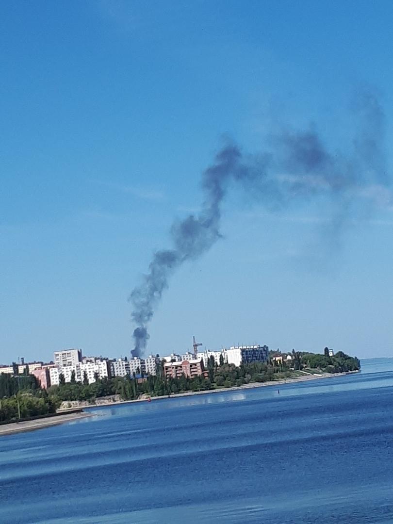 В Камышинском районе горел дом, а в Камышине - сухостой