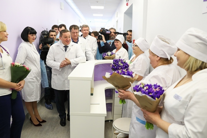 Роддом волгоградской клиники №7 откроет двери после капремонта