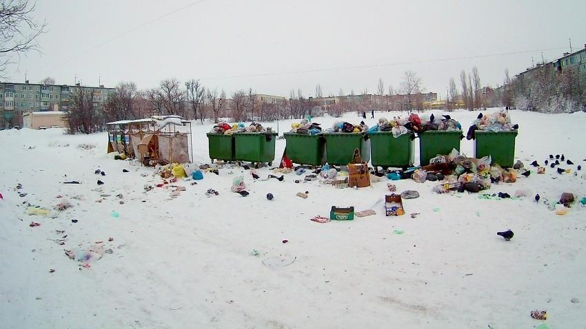 Нашлось объяснение мусорному коллапсу в первые дни нового года в Волгоградской области