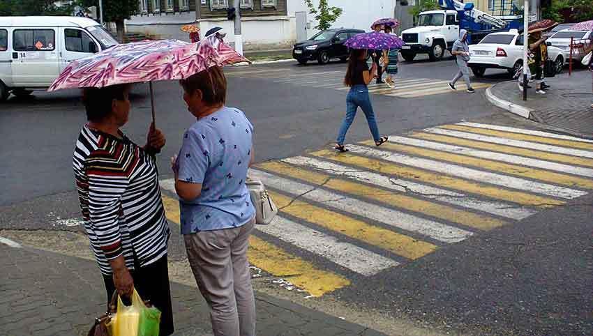 Дожди и грозы «не расстаются» с камышинской пропиской