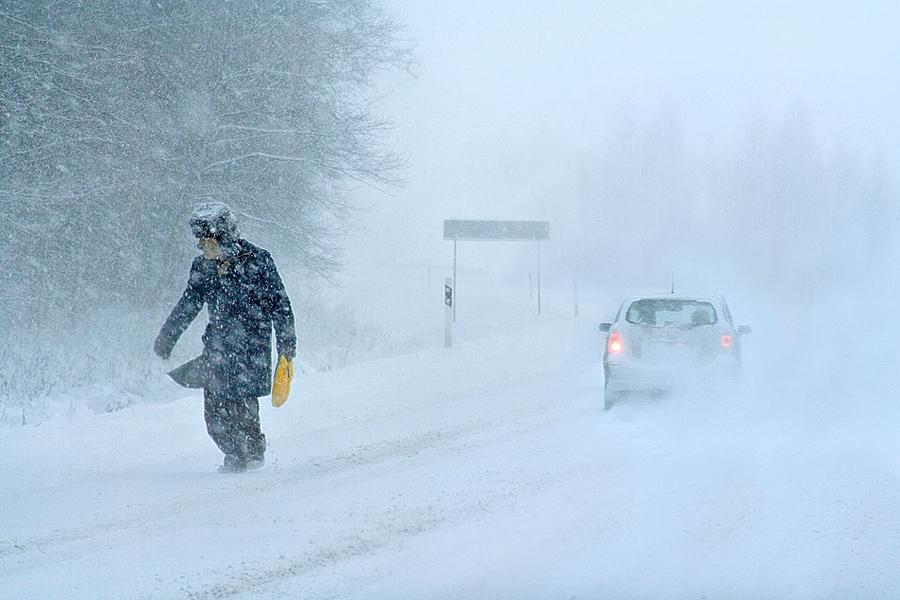 Сегодняшняя пятница объявлена в Камышине днем большого снега