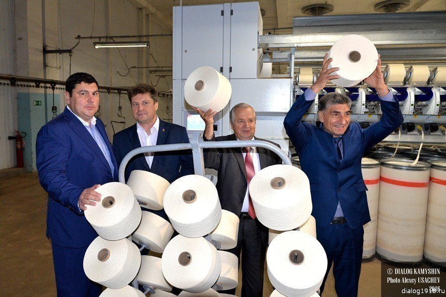 Профессиональная премия «Золотое веретено-2017» добавлена в коллекцию наград «Камышинского текстиля»
