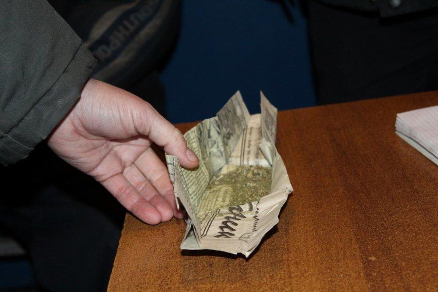 В Камышине арестован торговец марихуаной, державший «товар» в гараже