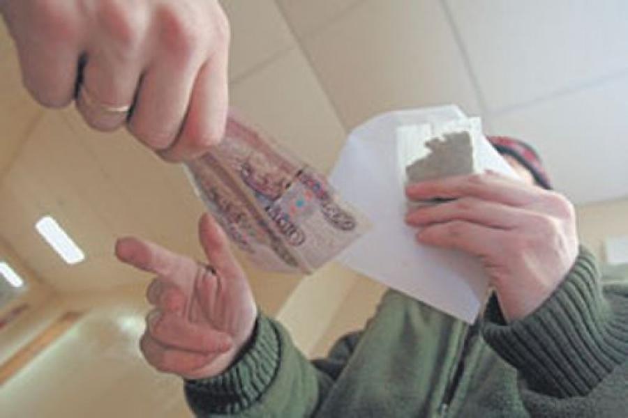 В Волгоградской области задержан подозреваемый  в сбыте крупной партии наркотиков