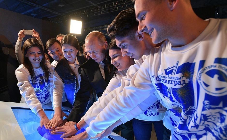 Центр патриотического воспитания в Камышине прозвучал в пресс-релизах по итогам визита Владимира Путина в Волгоград 2 февраля