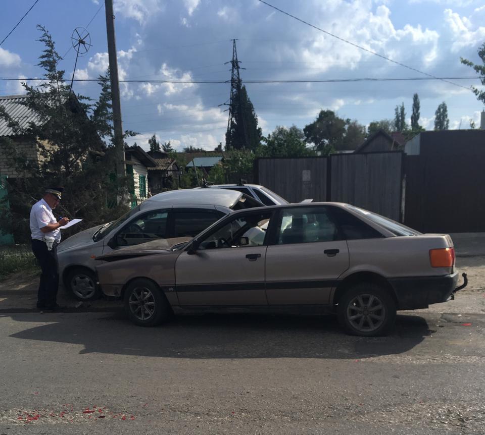 В Камышине произошло новое ДТП у «рокового» светофора на улице Гагарина