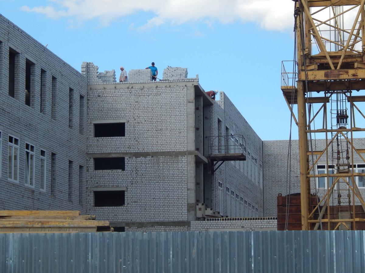 Главный строительный объект Камышина наращивает этажи