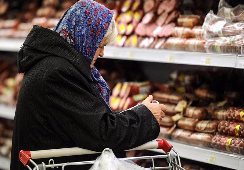 По итогам прошлого года цены на продукты выросли на 2,5%